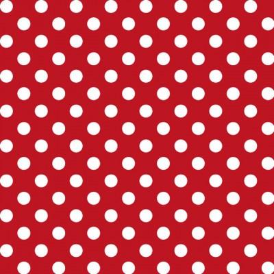 Patrón-de-lunares-blancos-con-fondo-rojo